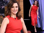 THE TONIGHT SHOW STARRING JIMMY FALLON -- Episode 0371 -- Pictured: Actress Rachel Weisz arrives on November 19, 2015 -- (Photo by: Douglas Gorenstein/NBC/NBCU Photo Bank via Getty Images)
