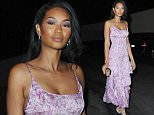 Chanel Iman arrives for dinner Cecconis in Beverly Hills \n\nPictured: Chanel Iman arrives for dinner Cecconis in Beverly Hills, CA\nRef: SPL1181463  201115  \nPicture by: DutchLabUSA / Splash News\n\nSplash News and Pictures\nLos Angeles: 310-821-2666\nNew York: 212-619-2666\nLondon: 870-934-2666\nphotodesk@splashnews.com\n