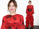 Mandatory Credit: Photo by Masatoshi Okauchi/REX Shutterstock (5407514a)  Dakota Johnson  Michael Kors flagship store opening, Tokyo, Japan - 20 Nov 2015