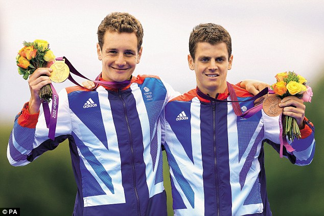 Olympic gold and bronze: Alistair, left, and Jonny hope to repeat their success at the Commonwealth Games