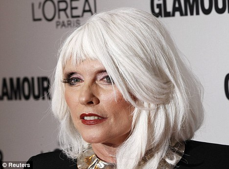 Inspirational: Singer Debbie Harry is still winning over fans after almost 40 years in the business