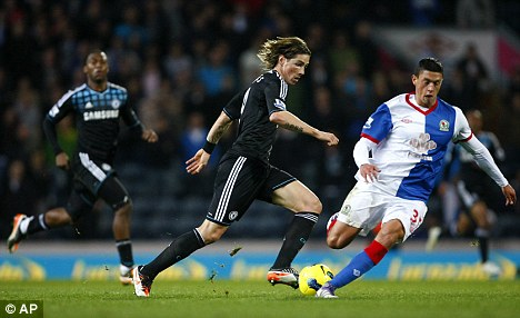 Man on a mission: Torres will be looking to show his quality against his ex-club