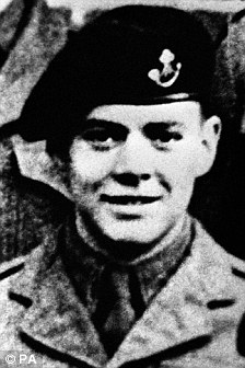 this picture shows Donald Neilson in his younger days when he was in the army