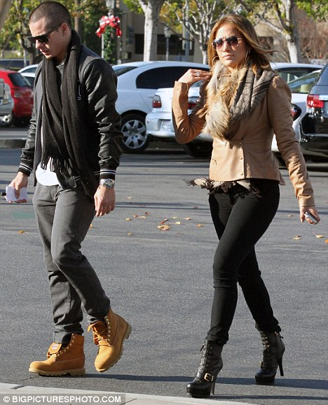 What are you buying? Jennifer Lopez and her new boy toy, dancer Casper Smart visited a jewellery store together in Calabasas, Los Angeles, yesterday