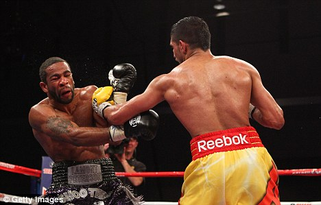 Gutted: Khan felt he was robbed as he lost to Peterson in Washington