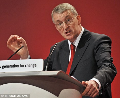Unimpressed: Shadow Communities Secretary Hilary Benn said families facing hardship will feel betrayed by the Government