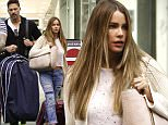 Picture Shows: Sofia Vergara  November 19, 2015\n \n Couple Sofia Vergara and Joe Manganiello are seen arriving on a flight in Miami, Florida. The pair, who got engaged on Christmas Day 2014, have arrived for their wedding on Sunday in Palm Beach.\n \n Exclusive All Rounder\n UK RIGHTS ONLY\n \n Pictures by : FameFlynet UK © 2015\n Tel : +44 (0)20 3551 5049\n Email : info@fameflynet.uk.com