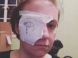 People always asking for tips on being a female director. Well, here's #1- do not scratch your cornea with a script page. Here is #2- if you DO scratch your cornea, have @zoe.kazan draw you a nice new eyeball. Thanks for the support through this incident @jennikonner ??