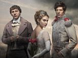 WARNING: Embargoed for publication until 00:00:01 on 20/11/2015 - Programme Name: War & Peace - TX: n/a - Episode: War & Peace - Generics (No. Generics) - Picture Shows: **STRICTLY NOT FOR PUBLICATION UNTIL 00:01HRS, FRIDAY 20TH NOVEMBER, 2015** Prince Andrei (JAMES NORTON), Natasha Rostov (LILY JAMES), Pierre Bezukhov (PAUL DANO) - (C) BBC - Photographer: Mitch Jenkins