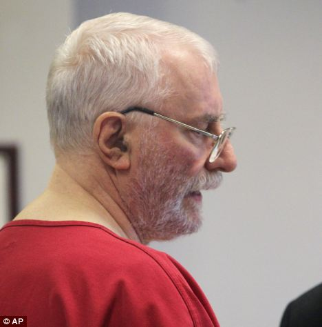 Extradited: Jack McCullough, 71, who lived in Sycamore at the time of the murder in 1957 has been charged
