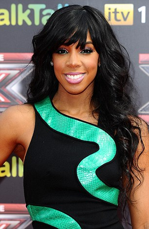 New wave: X Factor's Kelly Rowland with the style that got fans talking