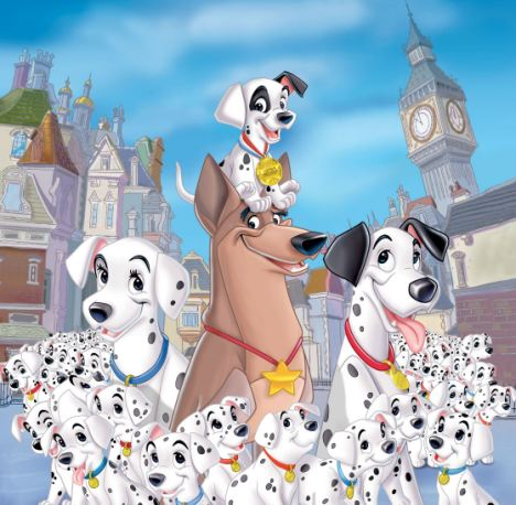 Cartoon adventure: Alfie the puppy  was stolen was like something out of the Disney film 101 Dalmatians