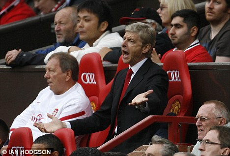 I don't know! Arsene Wenger has had the look of a desperate man in the last few days of the transfer window