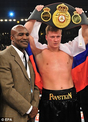 From Russia with love: Alexander Powetkin is the world heavyweight boxing champion