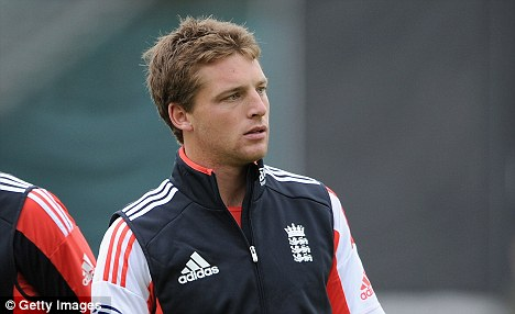New addition: Jos Buttler is in England's squad