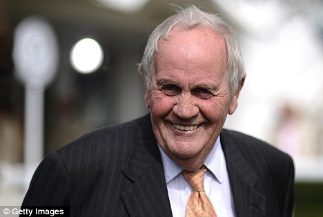 Top of the pile: Trainer Richard Hannon leads the way