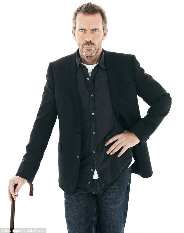 Dr Gregory House: Hugh Laurie's character when he's not behind bars