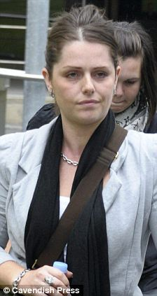 Jennifer Green leaving Manchester Crown Court