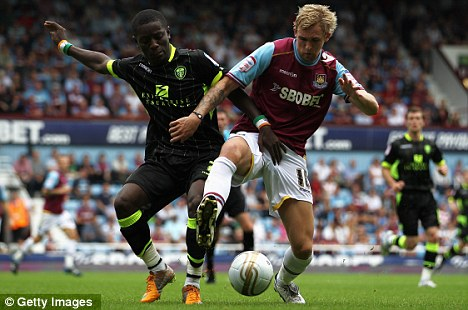 Take it to the Max: Gradel is in 'advanced talks' with the French outfit despite interest from West Ham