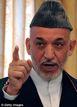 The Afghan president, Hamid Karzai, is believed to have scuppered talks held between U.S. and Taliban officials