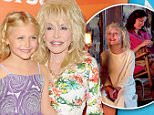 Mandatory Credit: Photo by Startraks Photo/REX Shutterstock (4957916ax).. Dolly Parton and Alyvia Alyn Lind.. NBC Universal Press Tour, Los Angeles, America - 13 Aug 2015.. ..