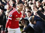 """Football - Watford v Manchester United - Barclays Premier League - Vicarage Road - 21/11/15  Memphis Depay celebrates after scoring the first goal for Manchester United  Action Images via Reuters / John Sibley  Livepic  EDITORIAL USE ONLY. No use with unauthorized audio, video, data, fixture lists, club/league logos or """"live"""" services. Online in-match use limited to 45 images, no video emulation. No use in betting, games or single club/league/player publications.  Please contact your account representative for further details."""