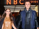 Jonathan Cheban was spotted leaving the NBC studios this evening with girlfriend Anat Popovsky  Pictured: Jonathan Cheban, Anat Popovsky Ref: SPL1180056  181115   Picture by: BlayzenPhotos / Splash News  Splash News and Pictures Los Angeles: 310-821-2666 New York: 212-619-2666 London: 870-934-2666 photodesk@splashnews.com