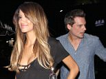 UK CLIENTS MUST CREDIT: AKM-GSI ONLY West Hollywood, CA - Len Wiseman parties at The Nice Guy with a mystery girl after break up rumors with wife Kate Beckinsale.  Pictured: Len Wiseman Ref: SPL1156204  191015   Picture by: AKM-GSI / Splash News
