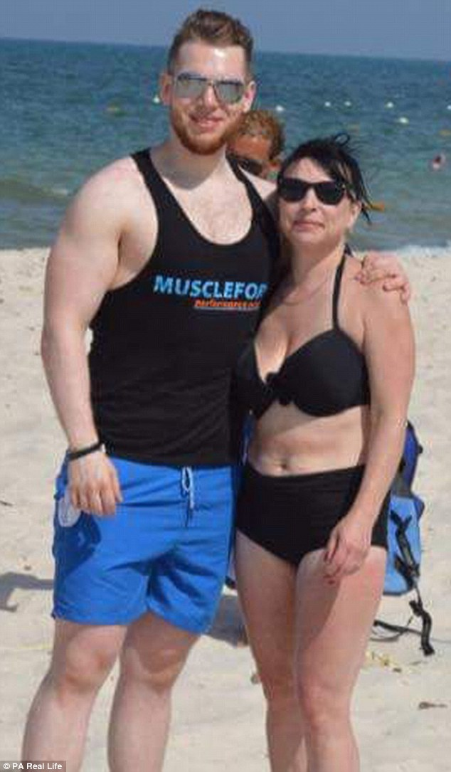 Nathan was enjoying his first holiday with his mother Tania Smith, 47, in 20 years when the terror attack happened