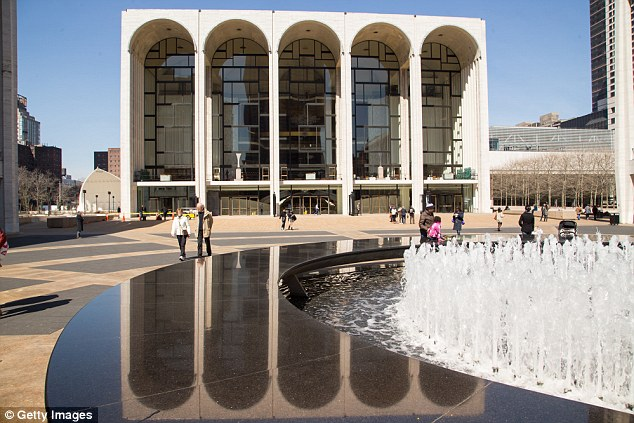 Classy: Pictured is the Lincoln Center in Manhattan