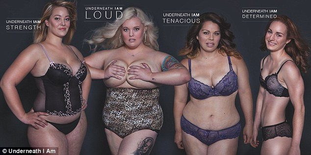 Underneath We Are Women is a project to promote realistic body image perceptions for Australian women