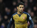 WEST BROMWICH, ENGLAND - NOVEMBER 21:  Mikel Arteta of Arsenal during the Barclays Premier League match between West Bromwich Albion and Arsenal at The Hawthorns on November 21, 2015 in West Bromwich, England.  (Photo by David Price/Arsenal FC via Getty Images)