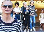 Picture Shows: Henry Samuel, Leni Samuel, Heidi Klum, Lou Samuel  November 21, 2015\n \n Model and proud mom Heidi Klum enjoys a day of shopping at The Grove in Los Angeles, California with her children. Missing from the outing was Heidi's boyfriend, Vito Schnabel.\n \n Non-Exclusive\n UK RIGHTS ONLY\n \n Pictures by : FameFlynet UK © 2015\n Tel : +44 (0)20 3551 5049\n Email : info@fameflynet.uk.com
