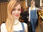 Jaime King attends the BED | STU event at The Malibu Country Mart on November 19th 2015 in Malibu California
