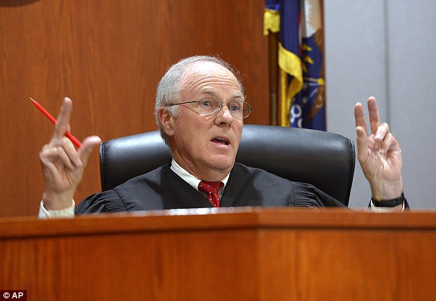 Judge Thomas Kay told Brianne Altice on Thursday that she needs to have responsibility for her actions.'You were the adult, you were the teacher, you were the one that could have stopped that from happening,' he said