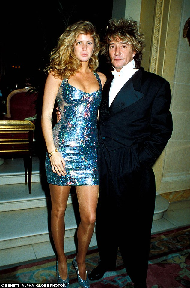 Good-looking couple! The Auckland born beauty rose to fame in 1989 as a Sports Illustrated model, before marrying Rod a year later in 1990 when she was 21 and he was 45