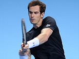 02 Tennis. ATP Finals. Andy Murray v Rafael Nadal. 18/11/15: Picture Kevin Quigley/solo syndication