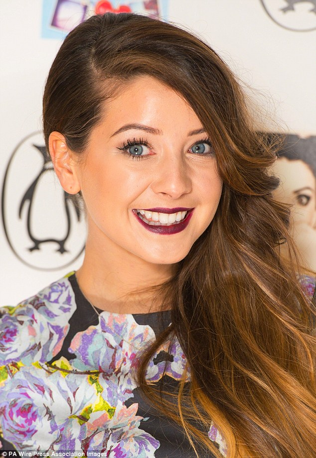 British blogger Zoella has millions of fans who flock to her YouTube page for make-up tips and beauty advice