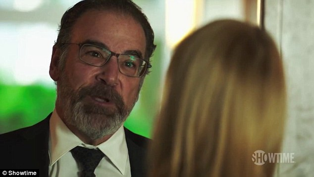 Confrontation: Most of the dialog comes from Saul who ends his statement telling Carrie: 'You're being naive and stupid, something you never were before'