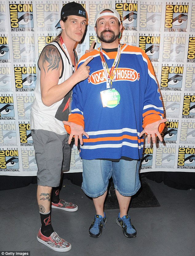 Like riding a bike: Jason Mewes and Kevin Smith had no trouble resurrecting their Jay And Silent Bob schtick