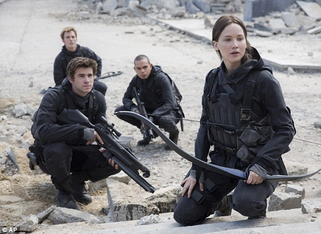 Coming soon: The attractive trio will conclude their longtime roles in Mockingjay Part 2, which hits cinemas worldwide on November 20