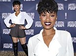 "NEW YORK, NY - NOVEMBER 20:  Jennifer Hudson attends ""The Color Purple"" Broadway Cast Photo Call  at Intercontinental Hotel on November 20, 2015 in New York City.  (Photo by Dimitrios Kambouris/Getty Images)"