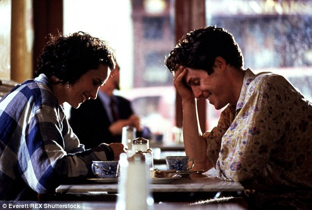 Classic: Debuting in 1994, Four Weddings And A Funeral, also starred Hugh Grant and was nominated for Best Picture in the Academy Awards (it lost to Forrest Gump)