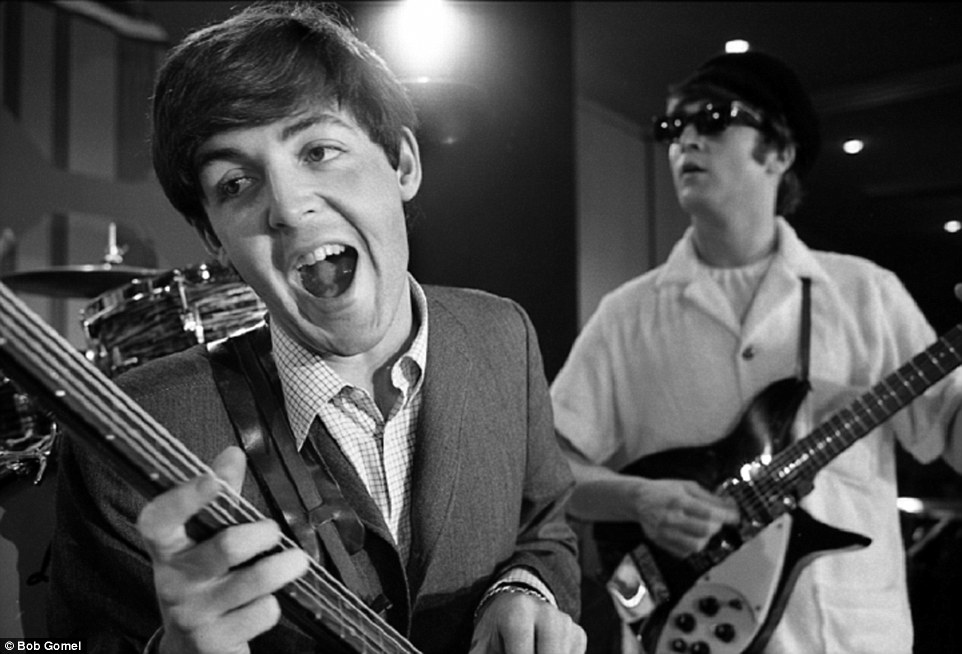 Cementing their legend: The Beatles played Sullivan again that evening to a live crowd as well that included 2600 people