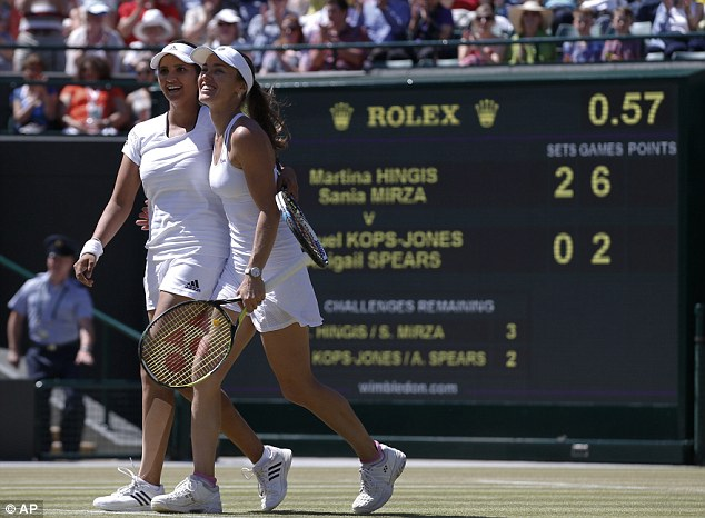 Hingis last reached a Wimbledon final in 1998 and has quit the game twice in her career