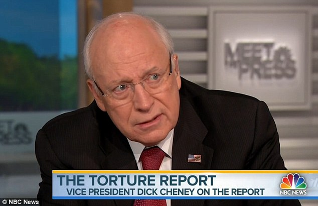 Appearing on Meet The Press on Sunday, Cheney once again defended the harsh interrogation techniques used by the CIA in the wake of the 9/11 attacks