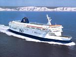 P&O ferry 'The Pride of Dover sail from Dover to France