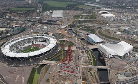 London calling: Over ten million Brits will look to avoid the Olympic Games in the capital this summer