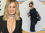 """SAN DIEGO, CA - NOVEMBER 13:  Khloe Kardashian signs and discusses her new book """"Strong Looks Better Naked"""" at Barnes & Noble on November 13, 2015 in San Diego, California.  (Photo by Joe Scarnici/WireImage)"""