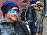 Bradley and Irina were seen walking head in hand around West Village. Bradley was carrying a bag full of juices bottles. However their romantic walk was cut short by a female fan who walked 3 or 4 blocks with the couple. Bradley politely asked the woman to leave them. The actor seemed much more comfortable with the situation then his Model Girlfriend.\n22 November 2015.\nPlease byline: Vantagenews.com